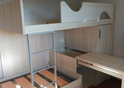 Amueblamiento para habitaciones muy reducidas